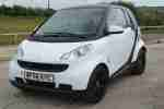 2008 FORTWO PURE 71 AUTO BLACK WHITE