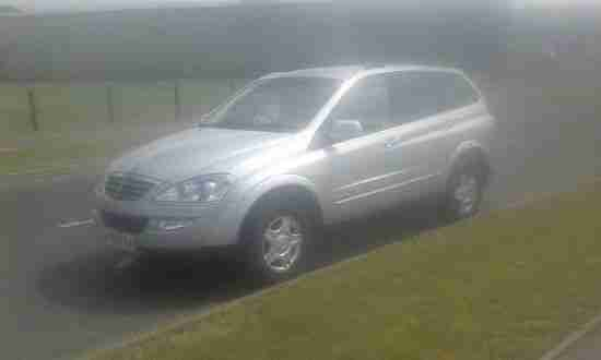 Ssangyong KYRON. Ssangyong car from United Kingdom