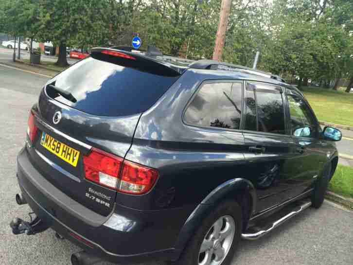 Ssangyong 2008 Kyron Spr 4wd Auto Grey Car For Sale