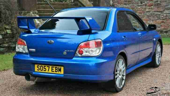 2008 SUBARU IMPREZA 270 GB SALOON NUMBER 215 OF 300 (RARE)