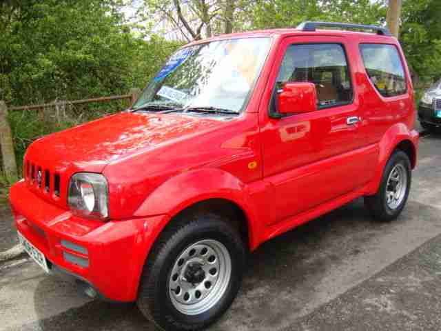 2008 SUZUKI JIMNY JLX RED LOW MILEAGE ONLY 31000