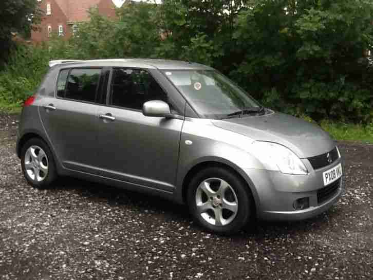 suzuki 2008 swift 1 5 vvts glx grey petrol car for sale. Black Bedroom Furniture Sets. Home Design Ideas