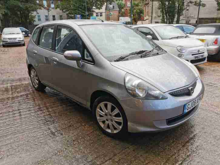 2008 Silver Honda Jazz 1.4i DSI SE with 3 Month Warranty