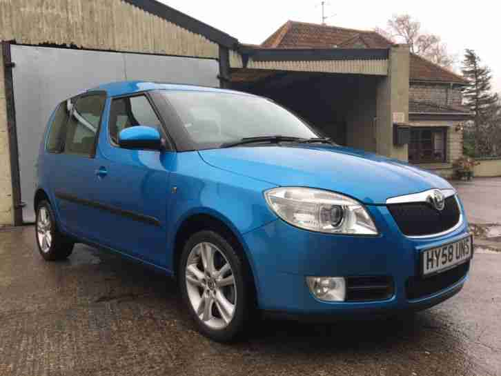 2008 Skoda Roomster 3, 1.6, Automatic, 62k, Great spec, One previous owner