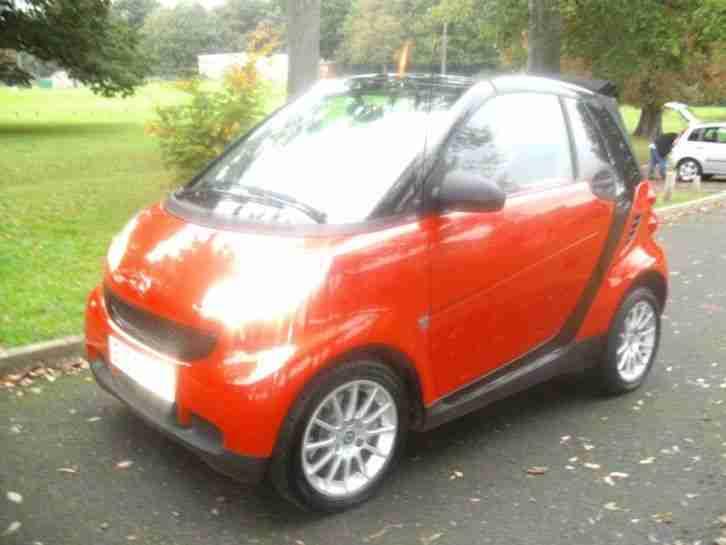 smart cabrio passion 2008