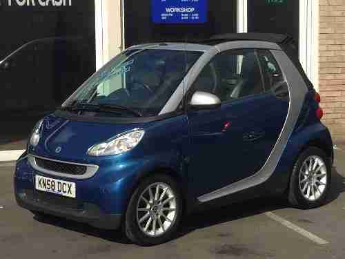 Smart Fortwo. Smart car from United Kingdom