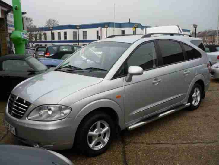 2008 Ssangyong Rodius 2.7 TD 270 S 5dr
