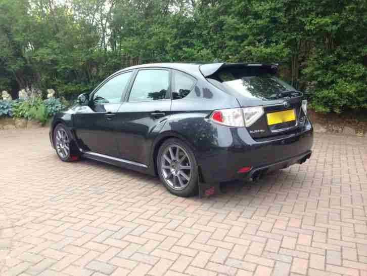 2008 Subaru Impreza 2.5 WRX STI Type UK 300 Hatch Grey