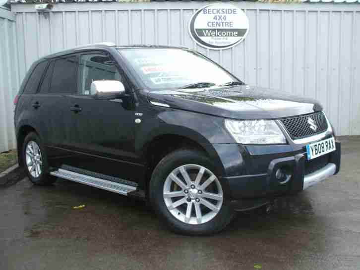 suzuki 2008 grand vitara 1 9ddis 4x4 x ec 5 door black. Black Bedroom Furniture Sets. Home Design Ideas