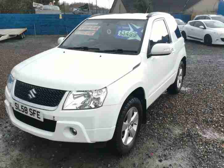 2008 Suzuki Grand Vitara 2.4 VVT SZ4 3dr ESTATE Petrol Manual