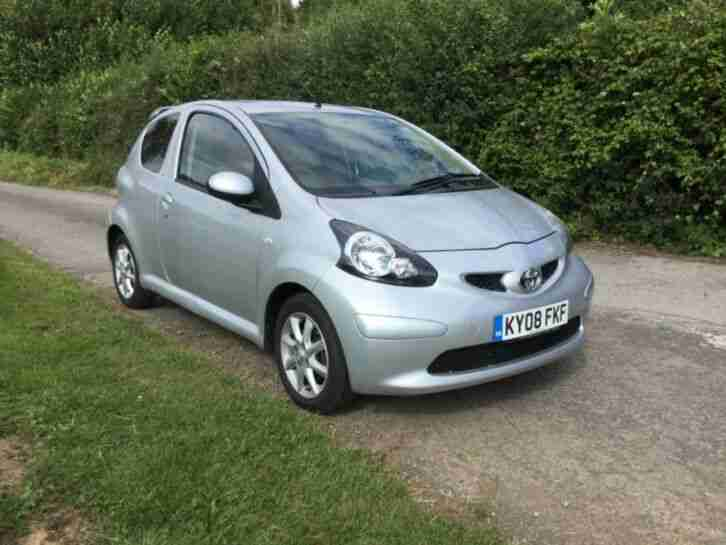 2008 AYGO PLATINUM VVTI 998cc LOW TAX