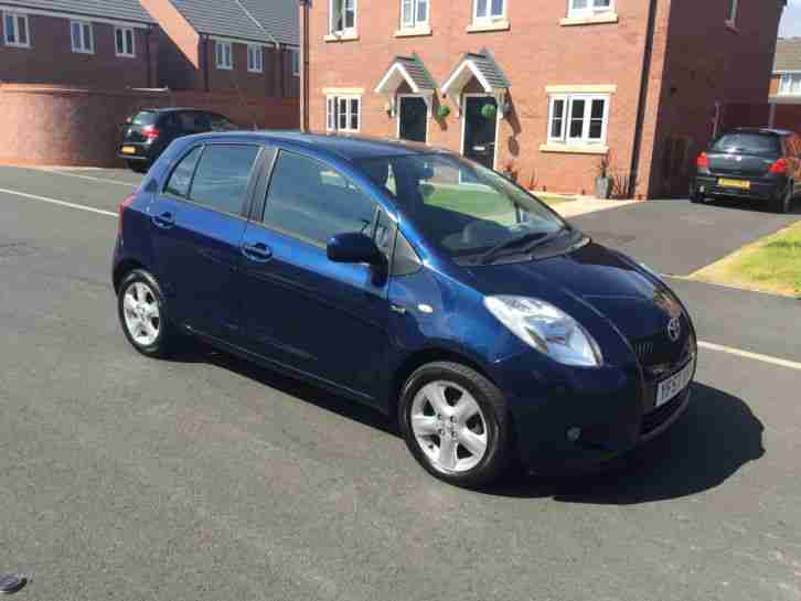 2008 TOYOTA YARIS T SPIRIT D-4D FULL DEALER SERVICE KEYLESS ENTRY SYSTEM £30 TAX