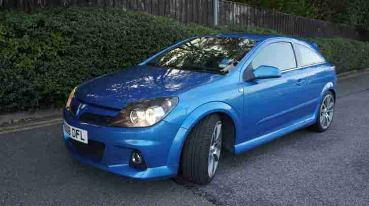 Vauxhall 2008 ASTRA VXR Arden Blue. car for sale