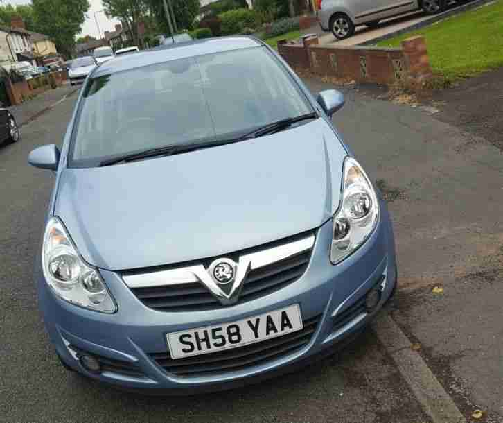 Vauxhall 2008 CORSA 1.2 DESIGN BLUE. Car For Sale