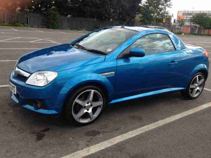 2008 VAUXHALL TIGRA EXCLUSIV BLUE FULL LEATHER HEATED SEATS