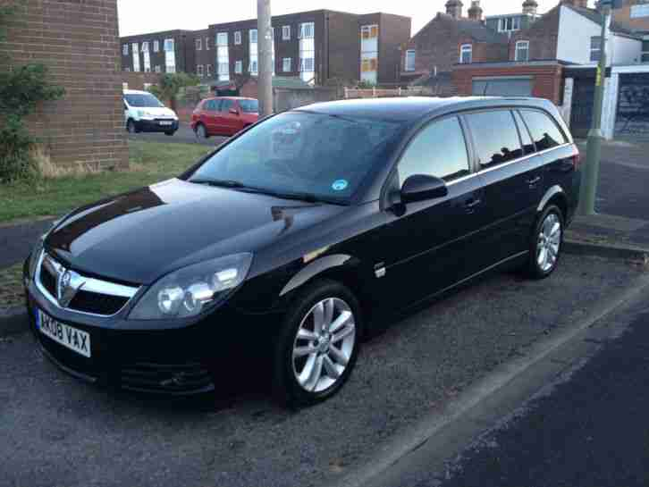 2008 vauxhall vectra sri black 1 8 estate car for sale. Black Bedroom Furniture Sets. Home Design Ideas