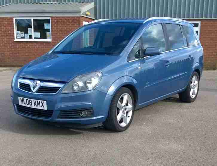 2008 vauxhall zafira sri cdti 150 blue car for sale. Black Bedroom Furniture Sets. Home Design Ideas
