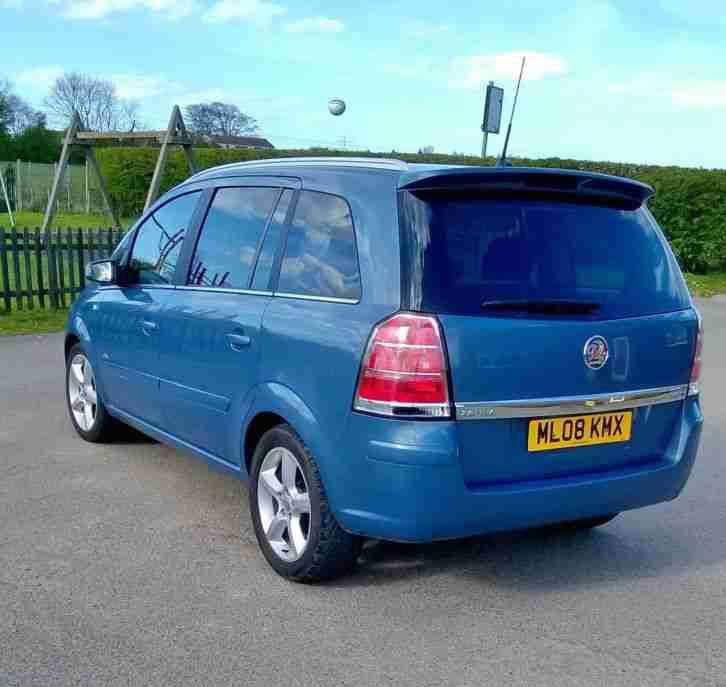 2008 VAUXHALL ZAFIRA SRI CDTI 150 BLUE. Car For Sale