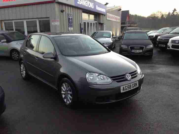 2008 VOLKSWAGEN GOLF MATCH TDI HATCHBACK DIESEL