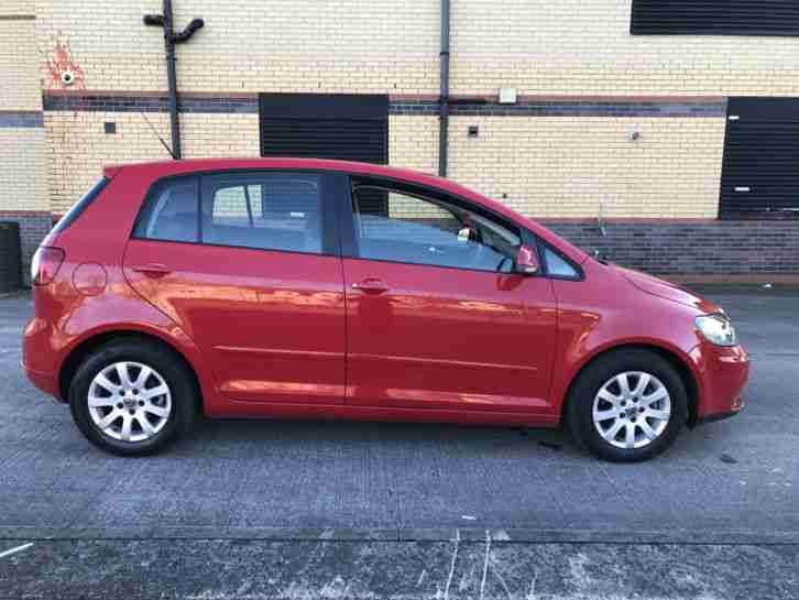 2008 GOLF PLUS LUNA TSI S A RED