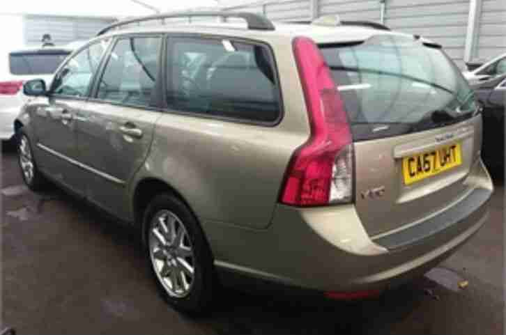 Volvo V50. Volvo car from United Kingdom