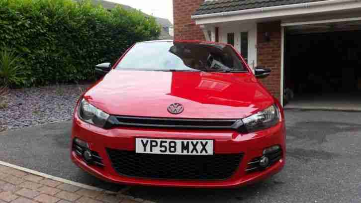 2008 VW Scirocco GT 2.0 TSi Manual Salsa Red 60K