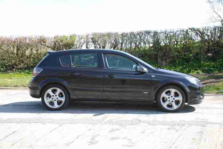 2008 Vauxhall Astra 1.7CDTi 16v ( 100ps ) SRi 5 Door Turbo Diesel Black