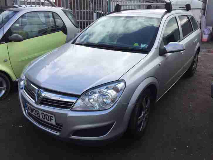 2008 Vauxhall Astra CLUB CDTI ESTATE STARTS+DRIVES SPARES OR REPAIRS