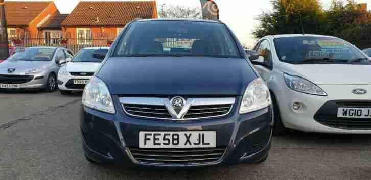 2008 Vauxhall Zafira 1.6 16v Exclusiv*Very Low Mileage Only 48k*BLUETOOTH