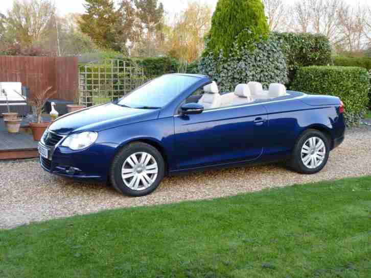 2008 Volkswagen EOS 1.4 TSI Convertible ABSOLUTELY IMMACULATE CAR