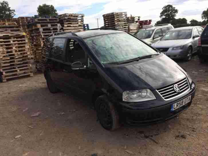 Volkswagen Sharan. Volkswagen car from United Kingdom