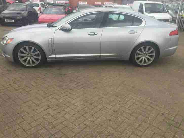 2008 jaguar xf 2.7 luxury FULL HISTORY