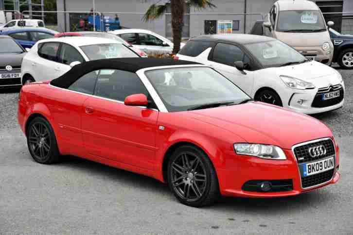 2009 09 AUDI A4 2.0 TDI 170 CABRIOLET SPECIAL EDITIONS FINAL EDITION