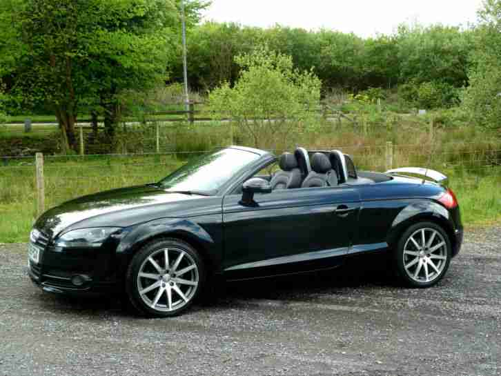 Audi TT ROADSTER T FSI PS BLACK CONVERTIBLE Car - Used audi tt convertible