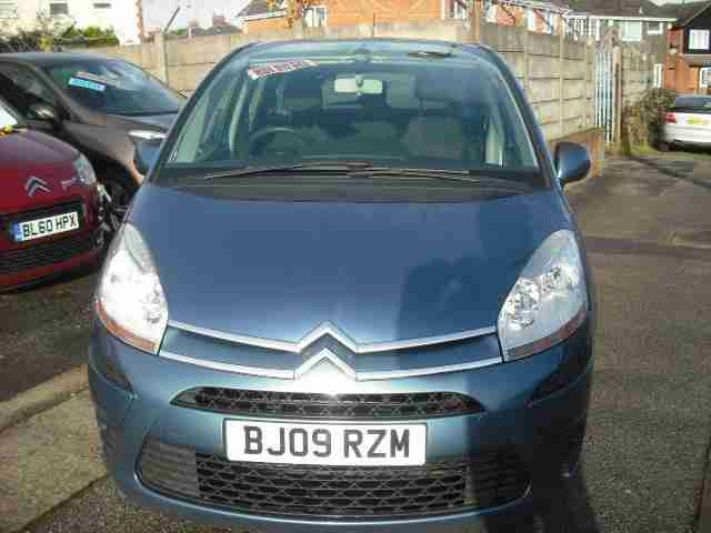 2009(09) Citroen C4 Picasso SX 1.6TD MANUAL 5-doors MPV
