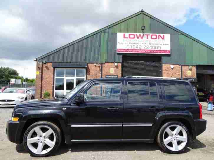 2009 09 JEEP PATRIOT 2.4 S-LIMITED 5DR 168 BHP
