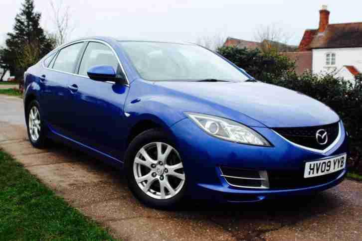 Mazda 2009 09 6 1 8 120bhp Ts Hatchback In Blue Car For Sale