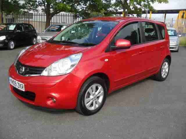 2009 (09) NISSAN NOTE 1.4 Acenta