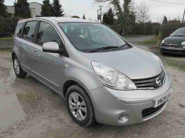 2009 09 NOTE 1.6 ACENTA 5DR FSH ALLOYS