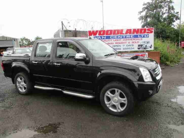 2009 09 PLATE ISUZU TF RODEO DENVER MAX AUTO 4X4 D CAB PICK UP