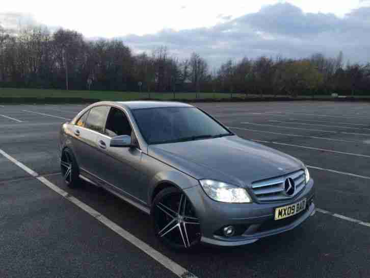 2009 09 reg mercedes c200 cdi amg sport auto one off car for sale. Black Bedroom Furniture Sets. Home Design Ideas