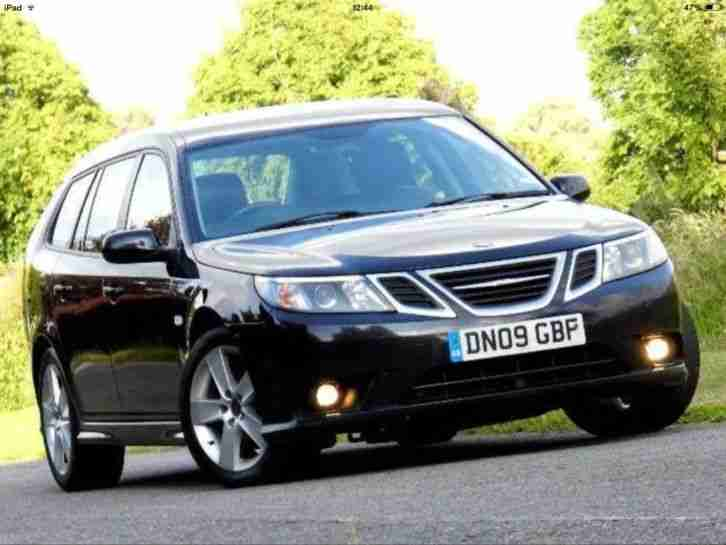 2009 09 REG SAAB 9 3 TURBO EDITION TID 150 BLACK
