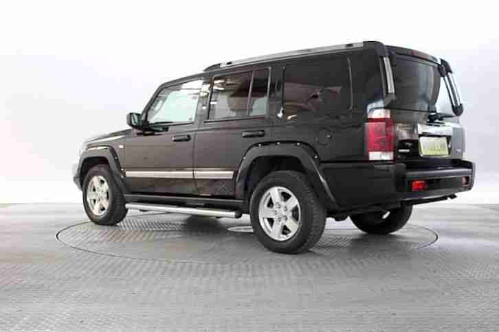 jeep 2009 09 reg commander 3 0 crd limited car for sale. Black Bedroom Furniture Sets. Home Design Ideas