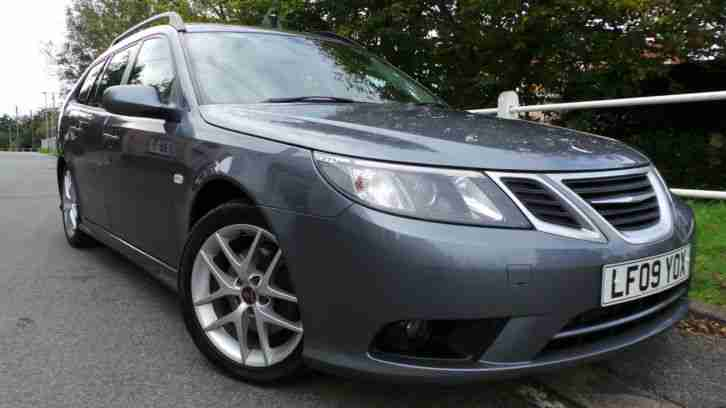2009 09 SAAB 9 3 1.9 TID 150 VECTOR SPORT TURBO DIESEL ESTATE 62,000 MILES