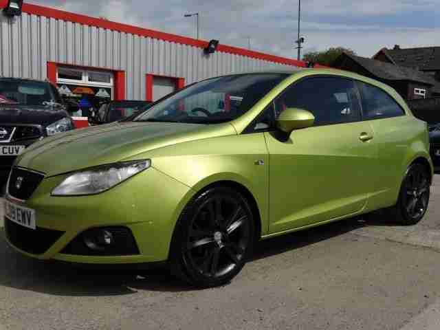 Inteligentny Seat 2009 09 IBIZA 1.6 SPORT 3D 103 BHP. car for sale RJ53