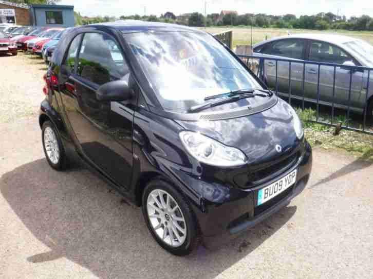 2009 09 SMART FORTWO 1.0 MHD PASSION