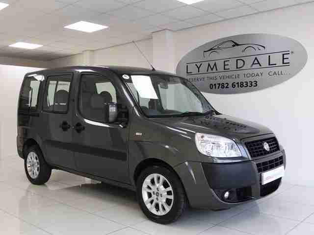 fiat 2009 58 doblo 1 9 jtd dynamic 5d 104 bhp diesel car for sale. Black Bedroom Furniture Sets. Home Design Ideas