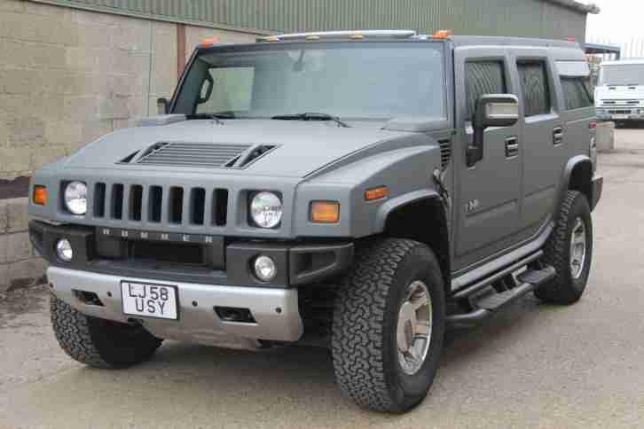hummer 2009 58 h2 6 2 v8 adventure 5dr 1 owner from new car for sale. Black Bedroom Furniture Sets. Home Design Ideas