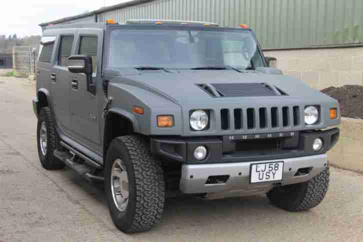 2009 58 Hummer H2 6.2 V8 Adventure 5dr 1 Owner From New