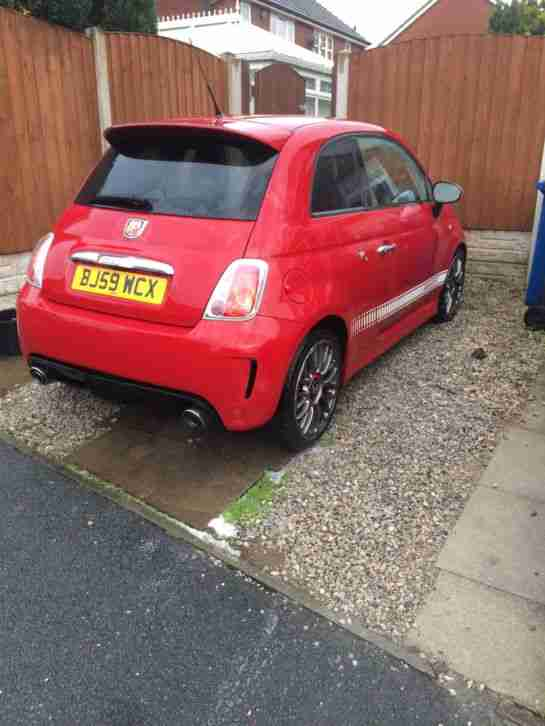2009 59 ABARTH 500 RED
